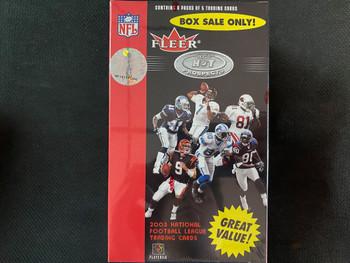 2003 Fleer Hot Prospects Blaster Box