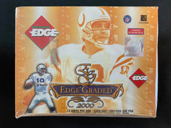 2000 Collector's Edge Edge Graded Football Box