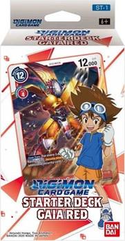 Digimon Starter Gaia Red