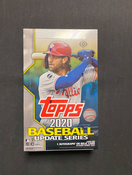 2020 Topps Update Series Baseball Hobby Box