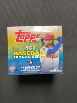 2020 Topps Update Series Baseball Jumbo Box