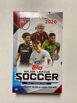 2020 Topps MLS Soccer Hobby Box