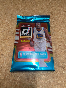 2017/18 Panini Donruss Basketball Hobby Pack