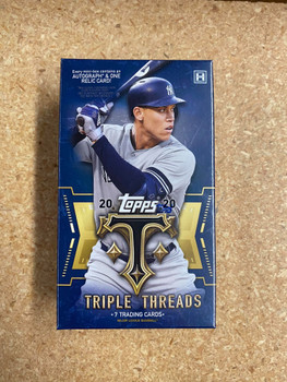 2020 Topps Triple Threads Baseball Hobby Mini-Box