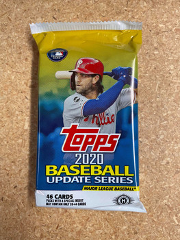 2020 Topps Update Jumbo Baseball Pack