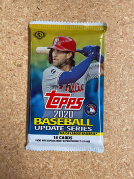 2020 Topps Update Baseball Hobby Pack