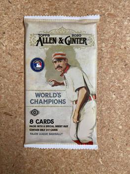 2020 Topps Allen & Ginter Baseball Hobby Pack