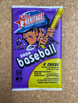 2020 Topps Heritage Minor League Baseball Hobby Pack