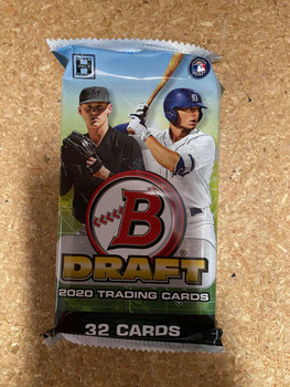 2020 Bowman Draft Baseball Jumbo Pack