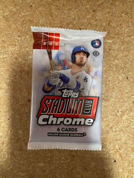 2020 Topps Stadium Club Chrome Baseball Hobby Pack