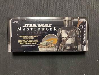 2020 Topps Star Wars Masterwork Hobby Box