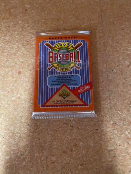 1992 Upper Deck Series 1 Baseball Pack