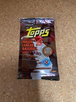 1998 Topps Series 1 Baseball Hobby Pack