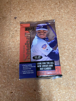 1998 Upper Deck Series 2 Baseball Retail Pack