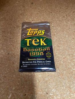 1998 Topps Tek Baseball Hobby Pack