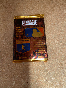 1996 Pinnacle Series 2 Baseball 10 Card Pack