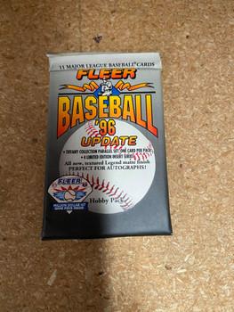 1996 Fleer Update Baseball Pack