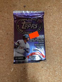 1996 Topps Series 2 Baseball Pack