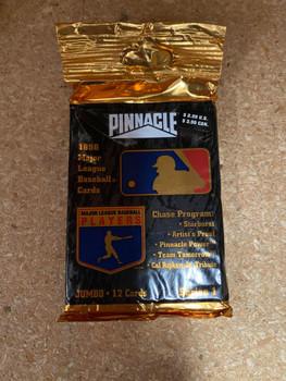 1996 Pinnacle Series 1 Baseball Jumbo 12 Card Pack