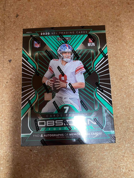 2020 Panini Obsidian Football Hobby Box