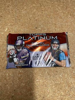 2014 Topps Platinum Football Hobby Pack