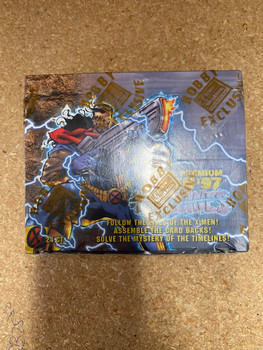 1997 Fleer Skybox Marvel Premium 1997 97 X-MEN Timelines Hobby Box Sealed