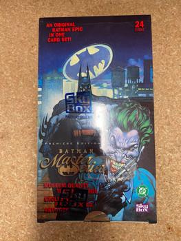 1996 Skybox Batman Premiere Edition Master Series Box