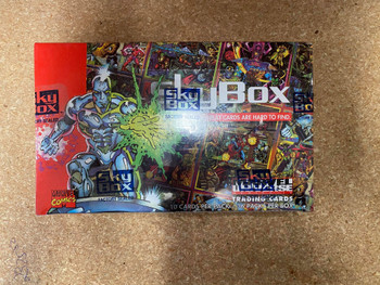 1993 Skybox Marvel Universe Series IV Factory Sealed Box