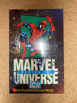 1992 Skybox Impel Marvel Universe Series 3 Box