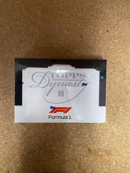 2020 Topps Dynasty Formula 1 Racing Hobby Box