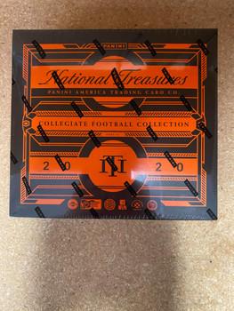 2020 Panini National Treasures College Football Hobby Box