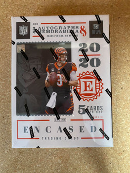 2020 Panini Encased Football Hobby Box