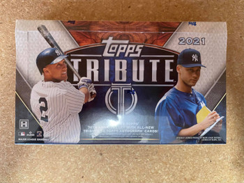 2021 Topps Tribute Baseball Hobby Box