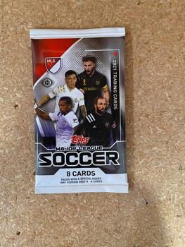 2021 Topps MLS Soccer Hobby Pack