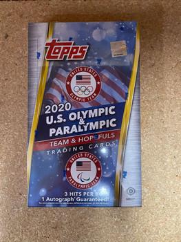 2021 Topps US Olympics & Paralympic Hopefuls Hobby Box