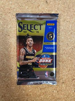 2020/21 Panini Select Basketball Hobby Pack