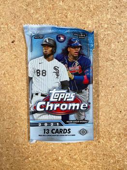2021 Topps Chrome Baseball Jumbo HTA Pack