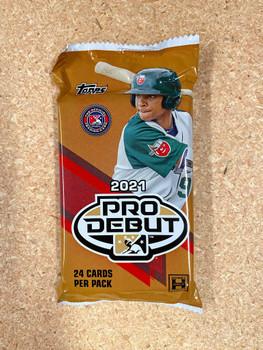 2021 Topps Pro Debut Jumbo Baseball Pack