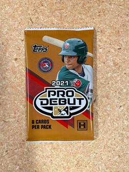 2021 Topps Pro Debut Baseball Hobby Pack