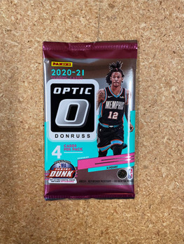 2020/21 Panini Donruss Optic Basketball Hobby Pack
