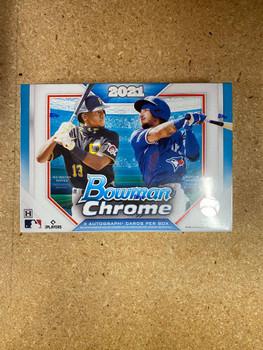 2021 Bowman Chrome Baseball HTA Choice Box