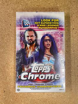 2021 Topps WWE Chrome Wrestling Hobby Box