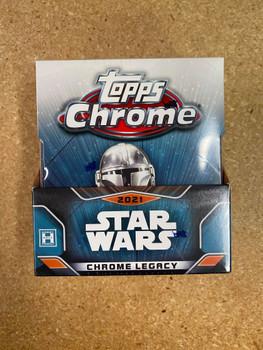 2021 Topps Star Wars Chrome Legacy Hobby Box
