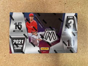 2021 Panini Mosaic Baseball Hobby Box