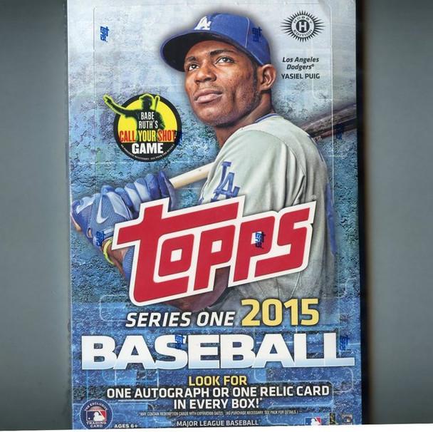 2015 Topps Series 1 Baseball Hobby Box
