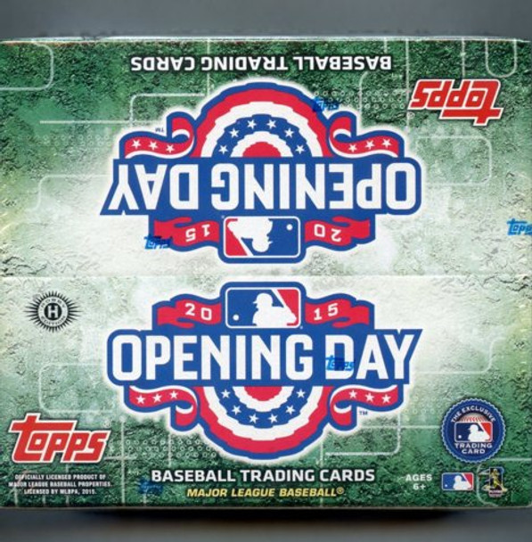 2015 Topps Opening Day Baseball Hobby Box