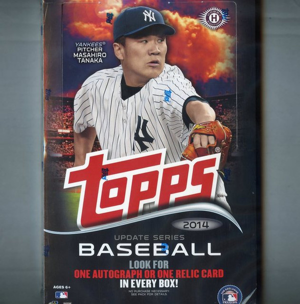 2014 Topps Update Series Baseball Hobby Box