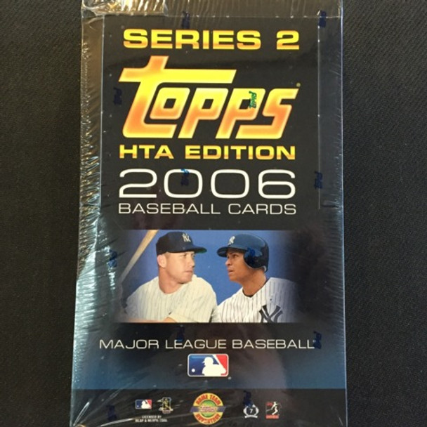 2006 Topps Series 2 HTA Baseball Hobby Box