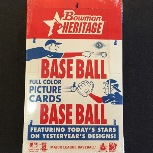 2006 Bowman Heritage Baseball Hobby Box