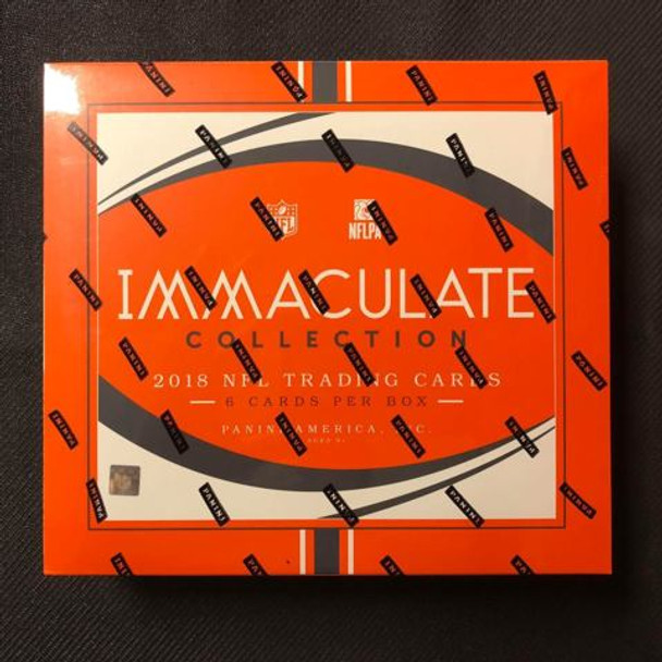 2018 Panini Immaculate Football Hobby Box